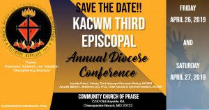 KACWM 3rd Episcopal Annual Diocese Conference @ Community Church of Praise | Chesapeake Beach | Maryland | United States